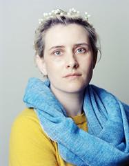 (Jay DeFehr) Tags: juliet portrait film largeformat 4x5 color c41 kodak ektar100 jobo elinchrom studio unicolor champaign sinarp fujinonw250mmf63