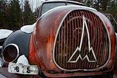 Magirus Deuz (stefan@aaby) Tags: abandonedcar abandoned car sweden småland magirusdeuz