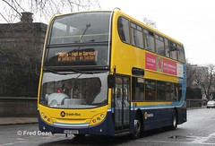 Dublin Bus EV98 (08D30098). (Fred Dean Jnr) Tags: busathacliath dublinbus dbrook volvo b9tl alexander dennis enviro400 ev98 08d30098 nassaustreetdublin february2013 dublin bus dublinbusyellowbluelivery