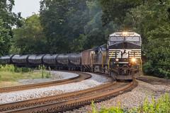 ET Run Home (travisnewman100) Tags: norfolk southern csx train railroad freight unit ethanol k422 wa subdivision atlanta division et44ah es40dc es44ah ge gevo