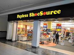 Payless Shoesource (Solomon Pond Mall, Marlborough, Massachusetts) (jjbers) Tags: solomon pond mall massachusetts marlborough payless shoe source closing
