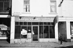Imperial I (bigalid) Tags: film 35mm vivitar mega 200 ilford xp2 c41 bw april 2019 scotland chinese takeaway dumfries restaurant