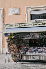 Corriere (marin.tomic) Tags: rome roma rom italia italy city urban kiosk travel europe nikon d90 traveler holiday vacation