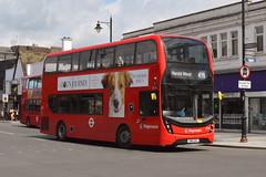 SN16 OKS (10334) Stagecoach London (hotspur_star) Tags: londontransport londonbuses londonbus londonbuses2019 alexanderdennisltd enviro400hmmc tfl transportforlondon hybridbus hybridtechnology busscene2019 doubledeck stagecoachlondon sn16oks 10334 496