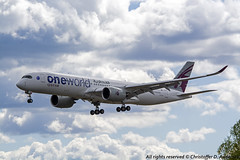 A7-ALZ (2) (Christoffer Andersen) Tags: qatar qatarairways airbus a350 a350900 oneworld oneworldlivery osl osloairportgardermoen gardermoen passengerplane airplane aircraft planespotting