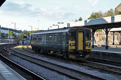 Ex GWR Class 153 153373 (Adam Fox - Plane and Rail photography) Tags: sprinter great western railway sheffield midland main line mainline mml br british rail railways railroad tracks dmu diesel multiple unit arriva northern train passenger