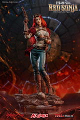 TBLeague-PHICEN PL2019-140AB Steam Punk Red Sonja - 03 (Lord Dragon 龍王爺) Tags: 16scale 12inscale onesixthscale actionfigure doll hot toys phicen tbleague seamless
