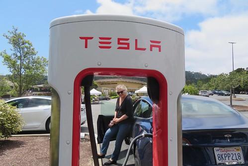 Our Tesla's Maiden Voyage to Big Sur