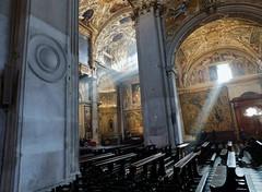 Sunlight in the Cathedral - Bergamo (litlesam1) Tags: churches italy2019 duepazziragazziamilano2019 march2019 bergamo