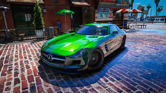 Mercedes SLS AMG (MaZeKArt) Tags: gtav car carlovers screenshot screenarchery mercedes sls amg