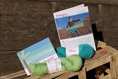 Traumwetter für Traumstrand (Sockenhummel) Tags: martinabehm strickmich traumstrand wolle club strickmichclub 2019 12019 skudderia merino garn yarn stricken knitting