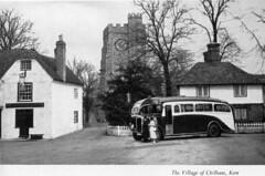 Touring Britain by Coach c1950 ( No. 2 of 2) (Brit 70013 fan) Tags: chilham kent england coach touring 1950 dennis lancet britishtravelholidaysassociation