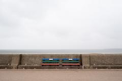 New Brighton - I (photosam) Tags: wallasey england unitedkingdom fujifilm xe1 fujifilmx prime raw lightroom xf18mm12r xf18mmf2r newbrighton merseyside seaside summer rainy overcast mundane banal empty newtopographics wirral thewirral