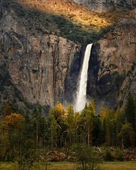 Bridalveil Fall, Yosemite National Park, Spring 2019 (bdrameyphotography) Tags: yosemitenationalpark yosemitevalley bridalveilfall waterfall nikond810 luminar skylum
