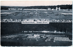The Grand Finale - Drake's Drum (pepandtim) Tags: postcard old early nostalgia nostalgic drakes drum aldershot tattoo gale polden london portsmouth hampshire england home british army 1972 2012 1894 command searchlight rushmoor arena show 2010 garrison 2013 37tgf95
