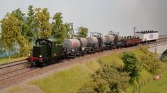 Locotracteur Y 6573 de la SNCF (hans.hirsch) Tags: locotracteur y 6573 sncf 6500 6400 epm ho h0 187 wagon marchandise diesel traktor locomotive lok