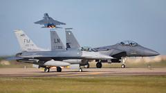 88-0404/FM F-16C -- 91-0306/LN F-15E (MANX NORTON) Tags: raf lakenheath f15 eagle f16 falcon usaf