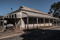 Devenish Victoria Australia (crispiks) Tags: devenish victoria australia nikon d750 1635 f4 old houses buildings bygone era abandonded derelict