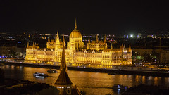 Parliament at Night (rschnaible) Tags: budapest hungary europe outdoor night photography long exposure parliament building architecture landmarks