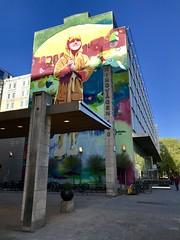 Ringvägen 100 (Alessio Maffeis) Tags: painting graffiti södermalm murales spring colors stockholm