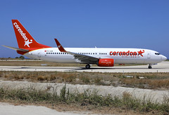 TC-COR (QC PHOTOGRAPHY) Tags: rhodes diagoras greece july 28th 2018 corendon airlines b737800wl tccor