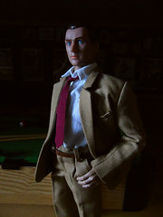 Mr Lynch. (Blondeactionman) Tags: bamhq shadows onesixth onesixthscale diorama dollphotography ammoarms playscale