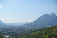 Châtillon-sur-Cluses @ Hike to Mont Orchez (*_*) Tags: 2019 may afternoon spring printemps europe france hautesavoie 74 cluses savoie hiking mountain montagne walk marche randonnee nature
