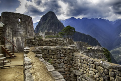 Exploring Machu Picchu (Steve Mitchell Gallery) Tags: landmark landmarks wondersoftheworld machupicchu inca incas lostcivilizations architecture buildings travel peru