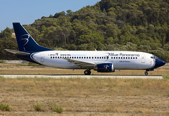 I-BPAG (QC PHOTOGRAPHY) Tags: rhodes diagoras greece july 28th 2018 blue panarama airlines b737300 ibpag