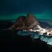 Hamnoy Beneath the Northern Lights