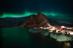 Hamnoy Beneath the Northern Lights (virtualwayfarer) Tags: moskenes nordland norway northernlights aurora lofoten norwegian nordic arcticcircle mountains fjord longexposure nightphotography landscape starphotography astrophotography auroraborealis polarlights astro clearsky peaceful stars starynight sonyalpha a7rii travel travelphotography travelphotographer adventure adventurephotography northernlatitude roadtrip indietravel wild explore exploring dramaticnature aweinspiring weather calm dancinglight kp3 arctic arcticphotography march snow snowy cold magnetosphere scandinavian mirror reflectionnight hamnøy moskenesmunicipality nordlandcounty hamnøya fishingvillage redhut redhuts mountain valley sea seaside solarstorm dramatic dramaticlight singleshot