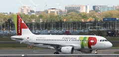 CS-TTM - Airbus A319-111 - TAP Portugal  130519 AMS (kitmasterbloke) Tags: aircraft aviation transport outdoor europe jet schiphol ams amsterdam