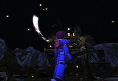 The moon (Honoka ~the sweety~ fighter) Tags: megaman megamanlegends rockvolnutt moon capcom videogames
