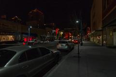 Pool Hall (davidseibold) Tags: america bernalillocounty jfflickr neonsign nightphotography photosbydavid poolhall postedonflickr sign streetlight text unitedstates usa vehicle window