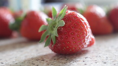 Come closer (Annika Photography) Tags: strawberry strawberries food fruit yummy canon700d canonrebelt5i foodphotography wallpaper freetouse canon light macro macrophotography