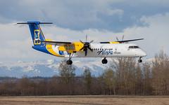 DHC-8 | N441QX | ANC | 20150510 (Wally.H) Tags: bombardier dehavillandcanada dhc8 dash8 n441qx alaskahorizon alaskananooks anc panc anchorage airport