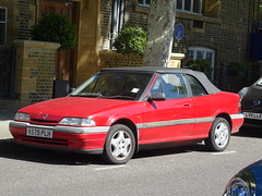 1992 Rover 214 Cabriolet (Neil's classics) Tags: vehicle 1992 rover 214 cabriolet car
