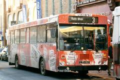 Bus Eireann KC192 (LZS192). (Fred Dean Jnr) Tags: buseireannroute303 limerick gac kc192 williamstreetlimerick december1998 alloverad heinztomatoketchup buseireann lzs192