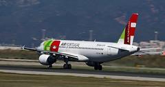TAP Portugal / Airbus A320-214 / CS-TNJ (vic_206) Tags: tapportugal airbusa320214 cstnj bcn lebl barrido panning