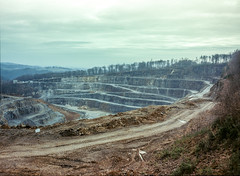 ANTHROPOCENE: THE HUMAN EPOCH - a must see! (wojszyca) Tags: fuji gsw680iii 6x8 120 mediumformat fujinon sw 65mm fujichrome astia 100f rap expired slide epson v800 mine anthropocene mining alteredlandscape industry manufactured landscape