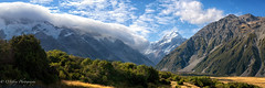 Mt.Cook's Majesty (OJeffrey Photography) Tags: mtcook mountcook 100yearstorm hookervalley southisland newzealand pano panorama ojeffrey ojeffreyphotography jeffowens nikon d850 strom clouds stormclouds