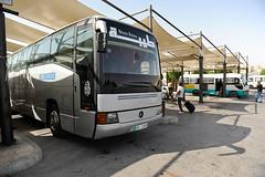 Mercedes O404 am Busbahnhof in Amman