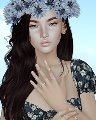 Korina ♥ (Popcorn Adalynn Bloom) Tags: lelutka foxcity exile yummy lode glamaffair aviglam kunst swallow pixicat bento korina
