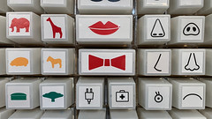 stamps (remiklitsch) Tags: red green black square nose lips iphone remiklitsch elephant giraffe horse pig shapes art graphic tree plug store white yellow