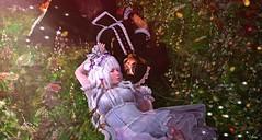 Yin & Yang (Valeria Grace Leonhart) Tags: secondlife lolita cute girls kawaii gothic yin yang opposite flowers