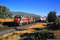 The Twins (jamesbelmont) Tags: utahrailway rut611 gp40 riverton utah draper local railroad railway train locomotive drgw riogrande traversemountain
