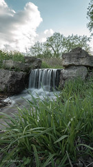 Rudy Kraemer Nature Preserve (Lzzy Anderson) Tags: rudykraemernaturepreserve naturepreserve naturepark park burnsville may spring 2019 minnesota waterfall water falls stream runningwater longexposure rock clouds