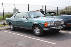 Mercedes-Benz 280 CE A850BET (Andrew 2.8i) Tags: haynes museum sparkford classic car cars classics breakfast meet show german saloon sedan coupe luxury executive w123 c123 280ce ce 280 mercedes benz