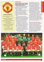 Everton vs Manchester United - 1991 - Page 15 (The Sky Strikers) Tags: everton manchester united barclays league division one goodison park official programme pound twenty