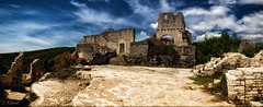 the ruins of Dvigrad (TheOtherPerspective78) Tags: dvigrad ruins castle fortress town village abandoned lost lostplace deserted abandonedplaces abandonedplace croatia istria panorama pano townsquare walls building architecture history historic empty lonely ghosttown theotherperspective78 canon eosm6